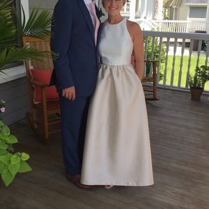 Alfred Sung D707 bridesmaid gown dress size 4
